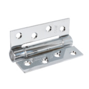 Spring Hinges Polished Chrome 75 x 102mm Pack of 3