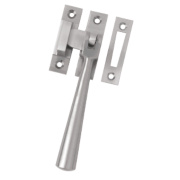 Serozzetta Carlisle Brass;Casement Fastener Window Handle Satin Nickel