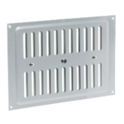 Map Vent Adjustable Louvre Vent Silver 152 x 229mm