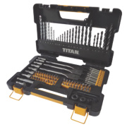 Titan Combination Drill Bit & Accessory Set 100Pcs