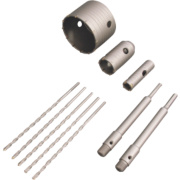 Titan TCT Core Drill Kit 10 Pieces