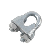 Hardware Solutions Wire Rope Fixings M8 Zinc-Plated Pack of 10