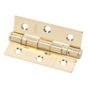 Eclipse Ball Bearing Hinge Electro Brass 76 x 51mm Pk2