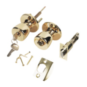 ERA Ball Mortice Set 60mm Brass Pair 67mm