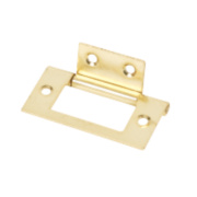 Flush Hinge Electro Brass 25 x 51mm Pack of 20