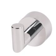 Moretti Florence Single Bathroom Clothes Hook Chrome-Plated