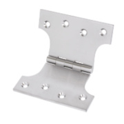 Eclipse Parliament Hinge Satin Chrome 125 x 102mm Pack of 2