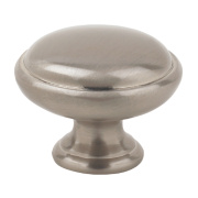 Fingertip Design Shaker Style Knob Satin Nickel 29mm