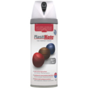 Plasti-Kote Premium Spray Paint Matt White 400ml
