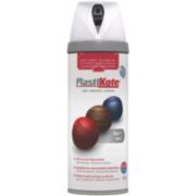 Plasti-Kote Premium Spray Paint Matt White 400ml