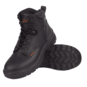 WORKSITE BLACK SAFETY BOOT SIZE 9 PAIR