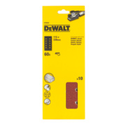 DeWalt 115 x 228mm 60 Grit ½ Sanding Sheets Pack of 10