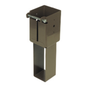 Concrete-In Post Supports 100 x 100mm Pack of 2