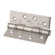Eurospec Ball Bearing Hinge Satin Stainless Steel 102 x 76mm