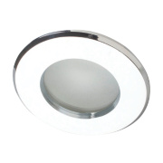 Robus Fixed Round Low Voltage Bathroom Downlight Polished Chrome 12V