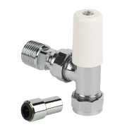 Pegler Terrier Push-Fit Lockshield Valve 10mm