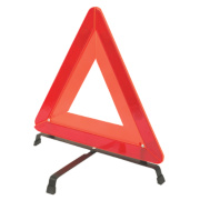 Folding Warning Triangle Orange
