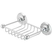 Moretti Henley Classic Bathroom Soap Dish Chrome-Plated