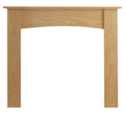 Be Modern Darwin Fire Surround Natural Oak