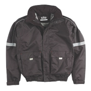 Site Elm Pilot Jacket Black Large 52-53