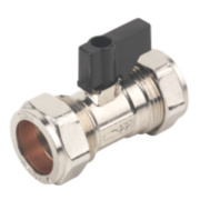 Isolating Valve With Handle 22mm