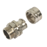 Adaptaflex 25mm Straight Fitting Swivel External Thread SP Type Pk10