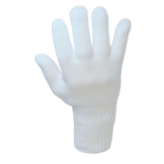 Heat-Resistant Gloves White Large
