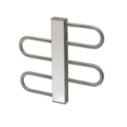 Reina Dynamic Towel Radiator Stainless Steel 475 x 500mm 406W 704Btu