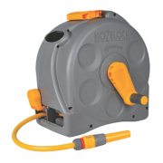 Hozelock 2-in-1 Compact Reel with Hose 25m