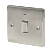 British General 20A 1-Gang DP Switch with LED
