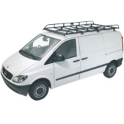 Rhino R513 Modular Rack Low Roof & Twindoor LWB/Mercedes