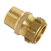 Conex Male Straight Connector Taper 302TA 22mm x ¾