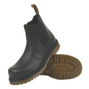 Dr Marten Icon 2228 Pull-On Safety Dealer Boot Black Size 10