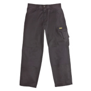 DeWalt Cargo Trousers Black 34