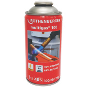 Rothenberger Butane / Propane Mixed Gas Cylinder 175g