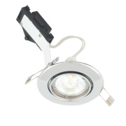 LAP Adjustable Round Low Voltage Downlight Polished Chrome 12V