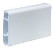 Tower Mini Skirting Trunking 100mm x 25mm x 3m Pack of 2
