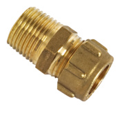 Conex Male Straight Connector Taper 302TA 15mm x ½