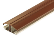 Corotherm Glazing Bar Brown 3m