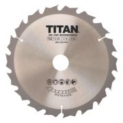 Titan TCT Circular Saw Blade 18T 210 x 16/25/30mm