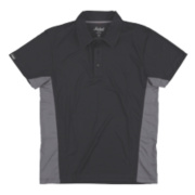SNICKERS AVS WICKING POLO BLACK GREY L