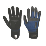 Ansell ActivArmr Plumbers Gloves Blue / Black Large