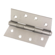 Eclipse Washered Fire Hinges Satin Stainless Steel 102 x 76mm Pk2