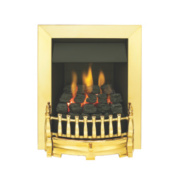 Valor Blenheim Traditional Fire Brass Effect Inset kW