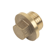 Brass Flanged Plug ¼