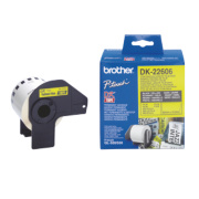 Brother Labelling Tape Roll Yellow 62mm