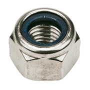 Nylon Lock Nuts A2 Stainless Steel M16 Pack of 10