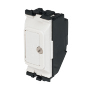 MK 13A Fuse Unit Grid Module White