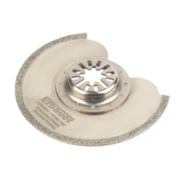 Erbauer Diamond Coated Multi-Cutter Segment Saw Blade 91mm