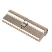 Yale 6-Pin Euro Cylinder Lock BS 45-50 (95mm) Satin Nickel